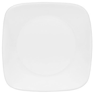 Corelle Square Pure White  6.5' Plate [Set of 6]