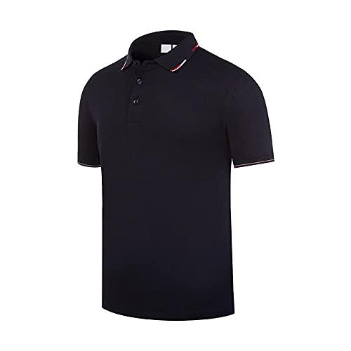 DamaiOpeningcs Camiseta de entrenamiento de fitness Lucong, polo de verano de manga corta para mesa de la talla L.