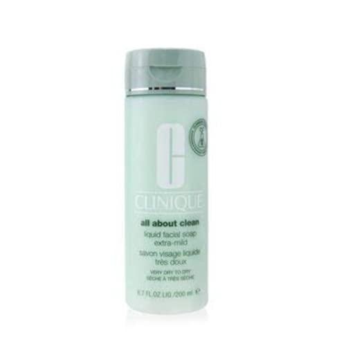 Clinique All about clean - Jabón facial líquido extra suave, 200 ml,...