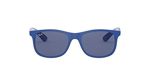 Ray-Ban JUNIOR Rj9062s Gafas de sol, Matte Blue, 48 Unisex-Niño