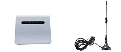 Winnet WB310+ 4g WiFi Router LTE Modem 4g LTE cpe with sim Card Slot RJ11 RJ45 with 3 Meter Anteena
