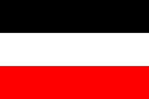 U24 Fahne Flagge Deutsches Reich Kaiserreich 150 x 250 cm