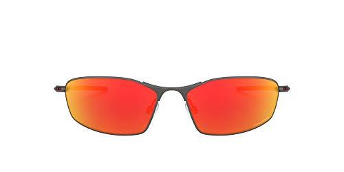 Oakley 0OO4141 Gafas, Matte Gunmetal, 60 para Hombre