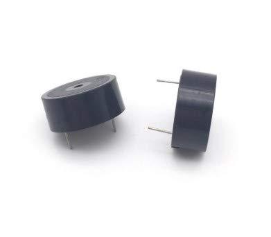 2pcs / Lot 2310 12V Activa zumbador piezoeléctrico 23x10MM HI-2310b SFM-20-C 3V-24V Universal de Alta decibelios de Alarma