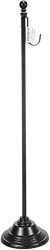 Panacea 35356 Kranzständer, 74 cm, Schwarz