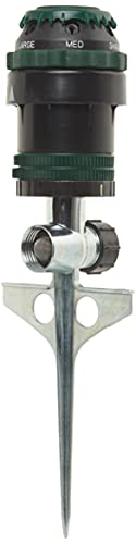 Orbit 58573N H2O-6 Gear Drive Sprinkler, Spike B...