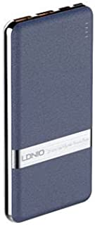 Portable Charger/Ultra Compact Power Bank/Quick Charge/LDNIO (White)