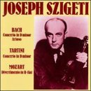 Cto in D by Bach/Szigeti/Stiedry