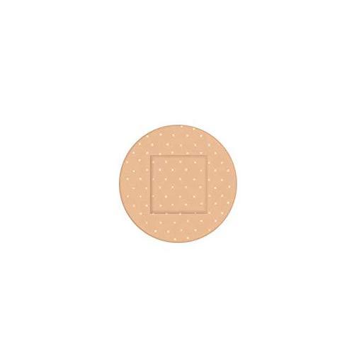 ChicSoleil Universal Pflaster 100 Stück Erste-Hilfe-Verband für den Notfall Atmungsaktiver runder medizinischer wasserdichter Verband Wundpflaster(#1,2,2 cm Durchmesser)