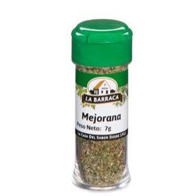 Tarro Cristal Mejorana 10g Labarraca