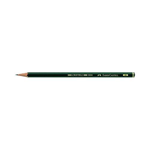 Faber Castell Bleistift 9000 4B 3er Pack