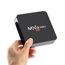 MXQ PRO Android 7.1 TV Box 2GB RAM/16GB ROM Amlogic S905W 64 Bit Quad Core Wi-Fi UHD 4K 1080P Smart TV Set Top Box