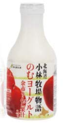 <br>小林牧場物語 のむヨーグルト余市りんご果汁入り 500g x8個セット 新札幌乳業