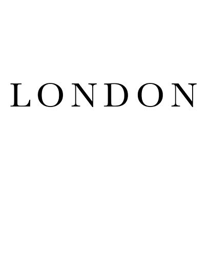 London: Decorative stacking book for interior design styling | Accessorize...