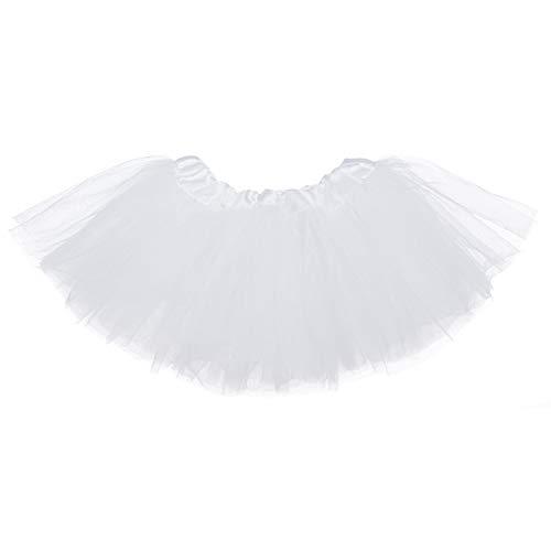 Ksnnrsng Meisjes tule rok Tutu Rok Minirok dansjurk rekbare tule rok balletrok voor feestjes Halloween kostuum dansen
