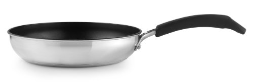 Prestige Create - 20 cm Stainless Steel Frying Pan - Non-Stick - Induction Compatible