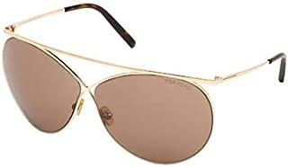 Tom Ford STEVLE FT 0761 GOLD/LIGHT BROWN 67/8/130 women Sunglasses