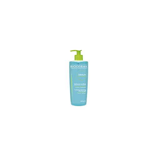 Bioderma SÃbium Cleansing and Makeup Removing Foaming Gel for Combination to Oily Skin, 16.7 Fl Oz