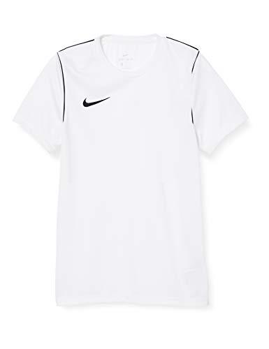 NIKE M Nk Dry Park20 Top SS Camiseta de Manga Corta, Hombre, White/Black/Black, L