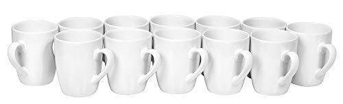 VBS Großhandelspackung 12er-Pack Kaffeebecher 9,5x8,5cm 300ml Heißgetränk