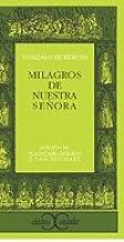 Milagros de Nuestra Señora                                                      . (CLASICOS CASTALIA. C/C.)