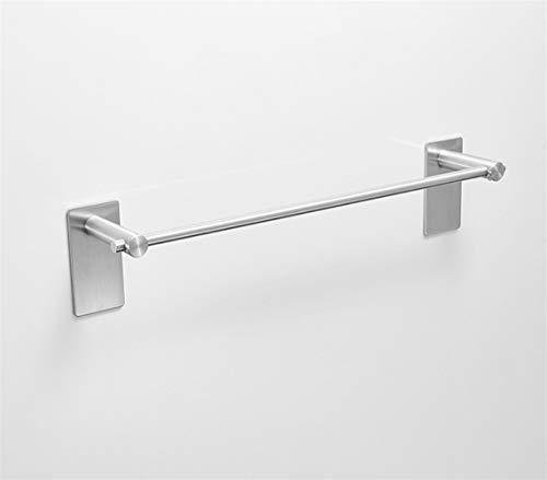 Auoeer Montado en la Pared de Toallas, Titular de la Moderna Simple Toalla desechable Bar, 304 Acero Inoxidable baño toallero, Acabado Cepillado.