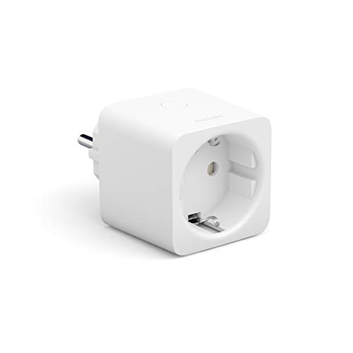 Philips Hue Smart Plug, Presa intelligente, Controllo Tramite Bluetooth, Compatibile con Alexa, Google Home e Apple HomeKit