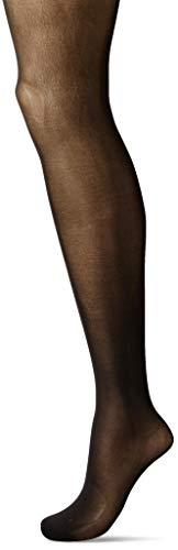 Hanes Silk Reflections Women's Plus Size Hanes Curves Seasonless Tights, black, 1X/2X