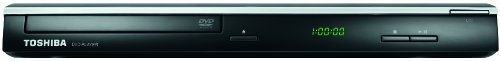 Toshiba SD3010KE-2 Slim Line DVD-Player (HDMI, Upscaler 1080p, DivX-zertifiziert) schwarz