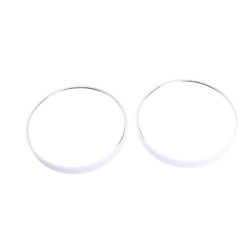 YNHNI Espejo Portable Viaje de Aumento de Pared Espejo de baño con 2 ventosas for Maquillaje - Pinzas y Puntos Negros/Manchas Espejo de Maquillaje,Viaje (Color : White)