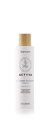 Kemon Actyva Nutrizione Istantanea Cream - pflegende Haar-Creme für trockene Haare, gezielte Haar-Pflege ohne Ausspülen - 150 ml
