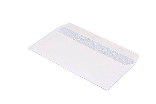 Bong–Buste per lettere, DIN lungo (110x 220mm), 100g Waterproof FSC, auto-adesive, 250pezzi senza finestra