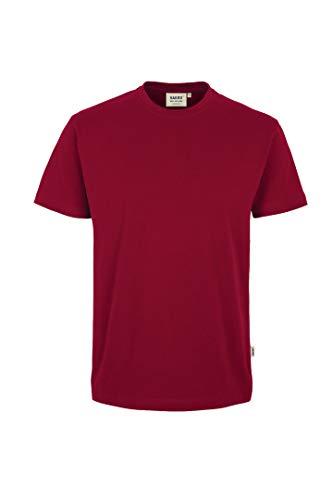T-Shirt Heavy, Weinrot, XL