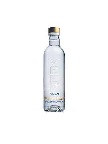 VEEN Effervecent Quellwasser - Mineralwasser mit Kohlensäure, kohlensäurehaltiges Wasser in hochwertiger Glasflasche, Durstlöscher aus Naturquelle, sprudelndes Wasser (24x 330ml)