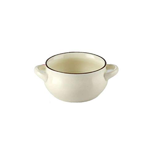 JLWM Cuenco para Sopa con 2 Asas, Cuencos para Sopa Tazón De...