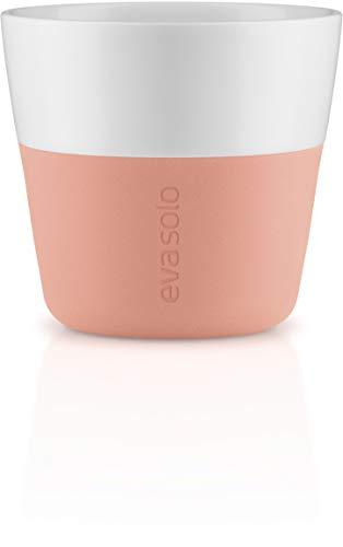 EVA SOLO | 2 Espresso-Becher| Porzellan, Silikon | Cantaloupe