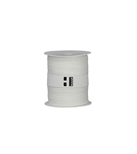 Hummelt® SilverLine-Rope Universalseil Polyesterseil 3mm 100m weiß auf Rolle