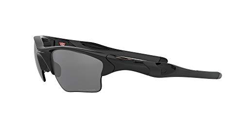 Product Image 3: Oakley Men's OO9154 Half Jacket 2.0 XL Rectangular Sunglasses, Polished Black/Black Iridium Polarized, 62 mm