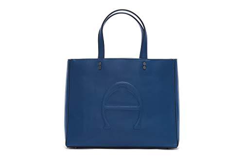 Etienne Aigner Adeline Damen Umhängetasche mit Fächern, Blau (Sailor Blue), Einheitsgröße