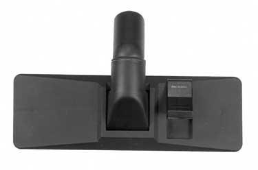 Brosse pour aspirateur sans roulettes universelle. Diamètre: 32mm. Avec pédale pour passer de sol dur à moquette. Adaptable sur un grand nombre d'aspirateur employant une brosse diamètre 32mm sans fixation particulière.
