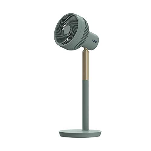 QINGZHUO Ventilador De Pie Altura Ajustable,Ventilador De Circulación De Aire,Cabezal De Movimiento De Gran Angular,para Dormitorio De Oficina.