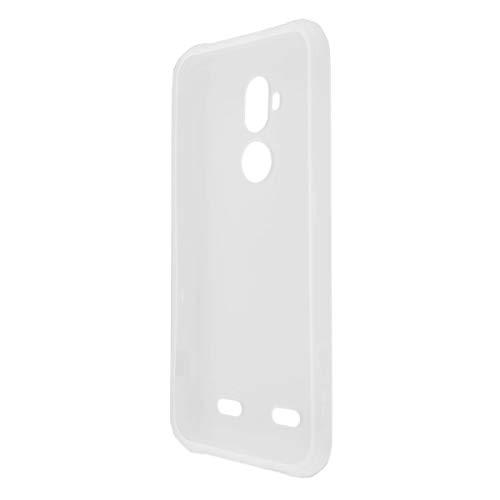 caseroxx TPU-Hülle für AGM X3, Tasche (TPU-Hülle in weiß-transparent)