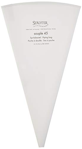 Städter Spritzbeutel, weiß, 45 cm