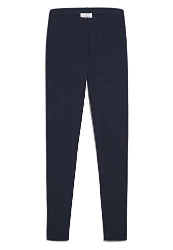 ARMEDANGELS Damen Leggings aus Bio-Baumwoll Mix - SHIVAA - L Navy 96% Baumwolle (Bio), 4% Elasthan Hose Leggings