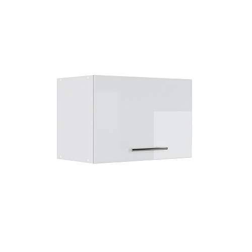 Vicco Küchenschrank Hängeschrank Unterschrank Küchenzeile Hochglanz Fame-Line (Weiß Hochglanz, Hängeschrank 60 cm (flach))