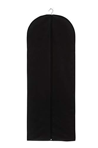 Thometzki Reise Kleidersack Kleiderschutzhülle Kleiderhülle Brautkleidhülle Vlies Atmungsaktiv ca 160 x 60 cm (2 Stck)
