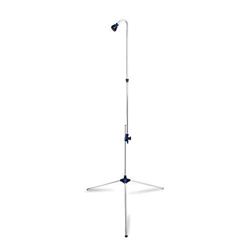 Thirteen Chefs Outdoor Shower for RV and Pool, Portable Outside Design with Freestanding Base