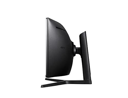 Samsung C49J890DKR 124,46 cm (49 Zoll) Premium Curved Business Monitor (HDMI, DisplayPort, USB Type-C, USB 3.0 HUB, 3,5mm Audio, 5 ms Reaktionszeit (G/G)) schwarz