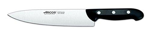 Arcos Maitre - Juego de Cuchillos 5 piezas (4 Cuchillos de Cocina + 1 Tijeras de Cocina) - Acero Inoxidable NITRUM…