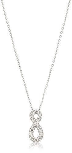 [ヴァンドーム青山] プラチナ ネックレス APVN201940DI ダイヤモンド ラッキーモチーフネックレス